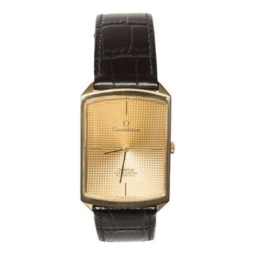 Omega constellation 90's automatic 18k gold vintage men's watch
