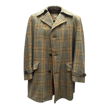 Bonds' of Fifth Avenue 1950s Wool Multicoloured Vintage Coat