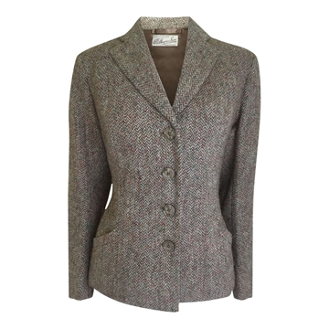 Vintage 1930s tweed wool brown jacket