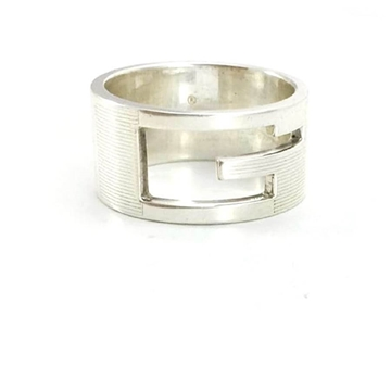 Gucci Mens Sterling Silver vintage Ring
