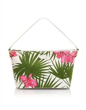 Celine Palm Print & Floral vintage Shoulder Bag