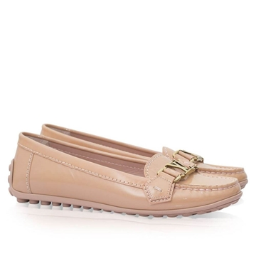 Louis Vuitton Oxford salmon pink vintage loafers