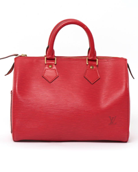 Picture of Louis Vuitton 1990s Epi Speedy 25 Red Vintage Bag
