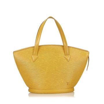 Louis Vuitton Epi Saint Jacques PM yellow vintage bag