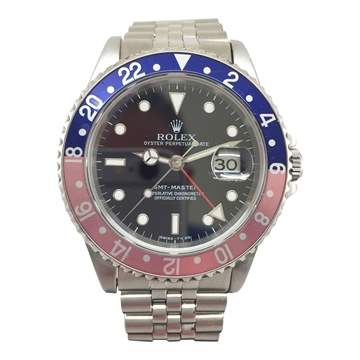 Rolex GMT Master II Oyster Perpetual 'Pepsi'16700 vintage men's watch