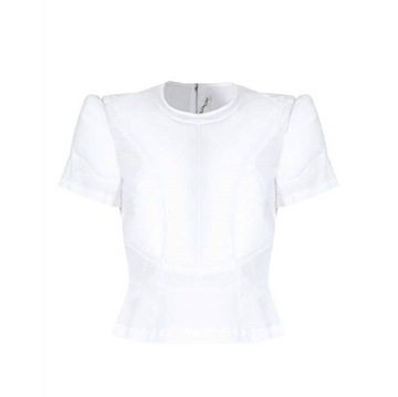 Comme des Garcons 1990s Padded white vintage Top