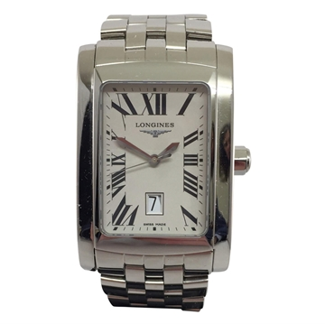 Longines DolceVita stainless steel XL L5.686.4 vintage mens watch