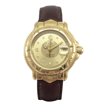 TAG Heuer Model – 6000 series WH 234 yellow gold vintage womens watch