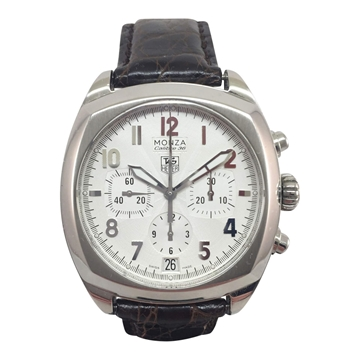 TAG Heuer Monza Calibre 36 CR5111 stainless steel vintage mens watch