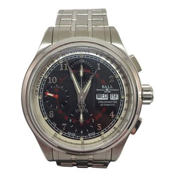 Ball Watch Co. Trainmaster chronograph CM1010D vintage mens watch
