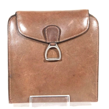 Picture of Gucci leather Necessaire brown vintage travel case