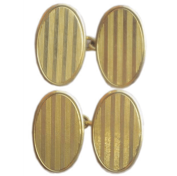 Picture of Art Deco 15ct Gold Vintage Cufflinks