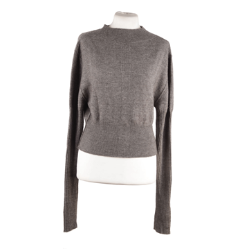 Rick Owens Wool Cropped grey Jumper