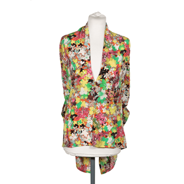 Etro Floral Silk Sleeveless multicolour vintage blouse