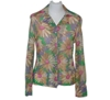 Picture of Luna Visconti Italian Lurex Flower Vintage Blouse