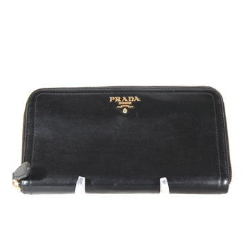 prada-italian-black-leather-long-zip-around-wallet-coin-purse-as-3
