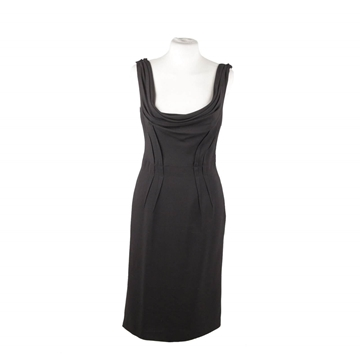 Prada Sleeveless Sheath Black Vintage Dress