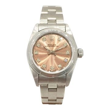Rolex Oyster Petpetual stainless steel vintage ladies watch