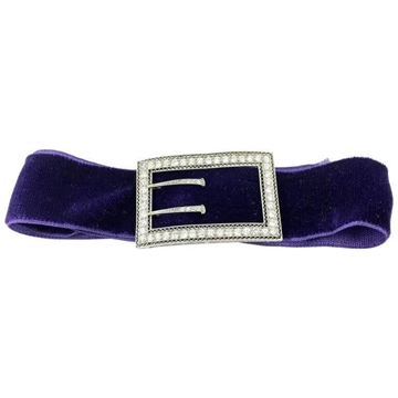 Marcus & Co 1920s Platinum & Diamonds vintage Choker Slide