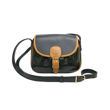 Picture of Celine Blazon Pochette Buckle Black Vintage Bag