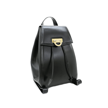 Picture of Celine Leather Logo Backpack Black Vintage Bag