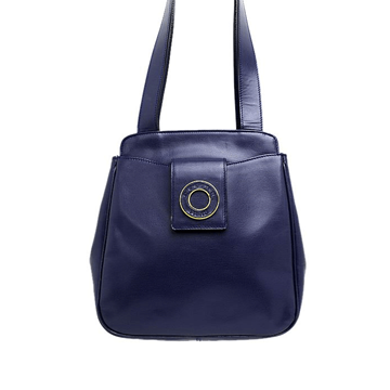Picture of Celine Leather Navy Vintage Bag