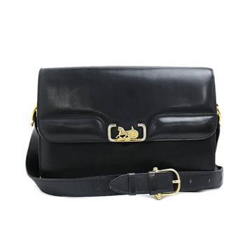 Picture of Celine Horse Carriage and Buckle Strap Navy Vintage Bag