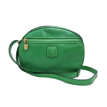 Picture of Celine Calf Leather Blazon Pochette Green Vintage Bag