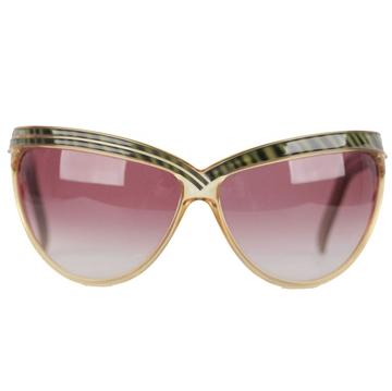 Christian Dior Rare Oversized Optyl Wrap Diva vintage Sunglasses