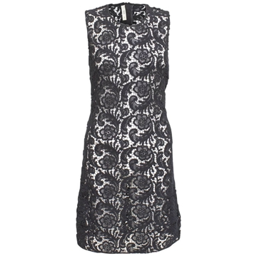 Prada Crochet Black Vintage Dress