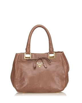 Prada classic brown vintage shoulder bag