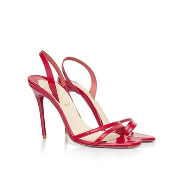 Christian Louboutin Patent Anna red vintage Sandals