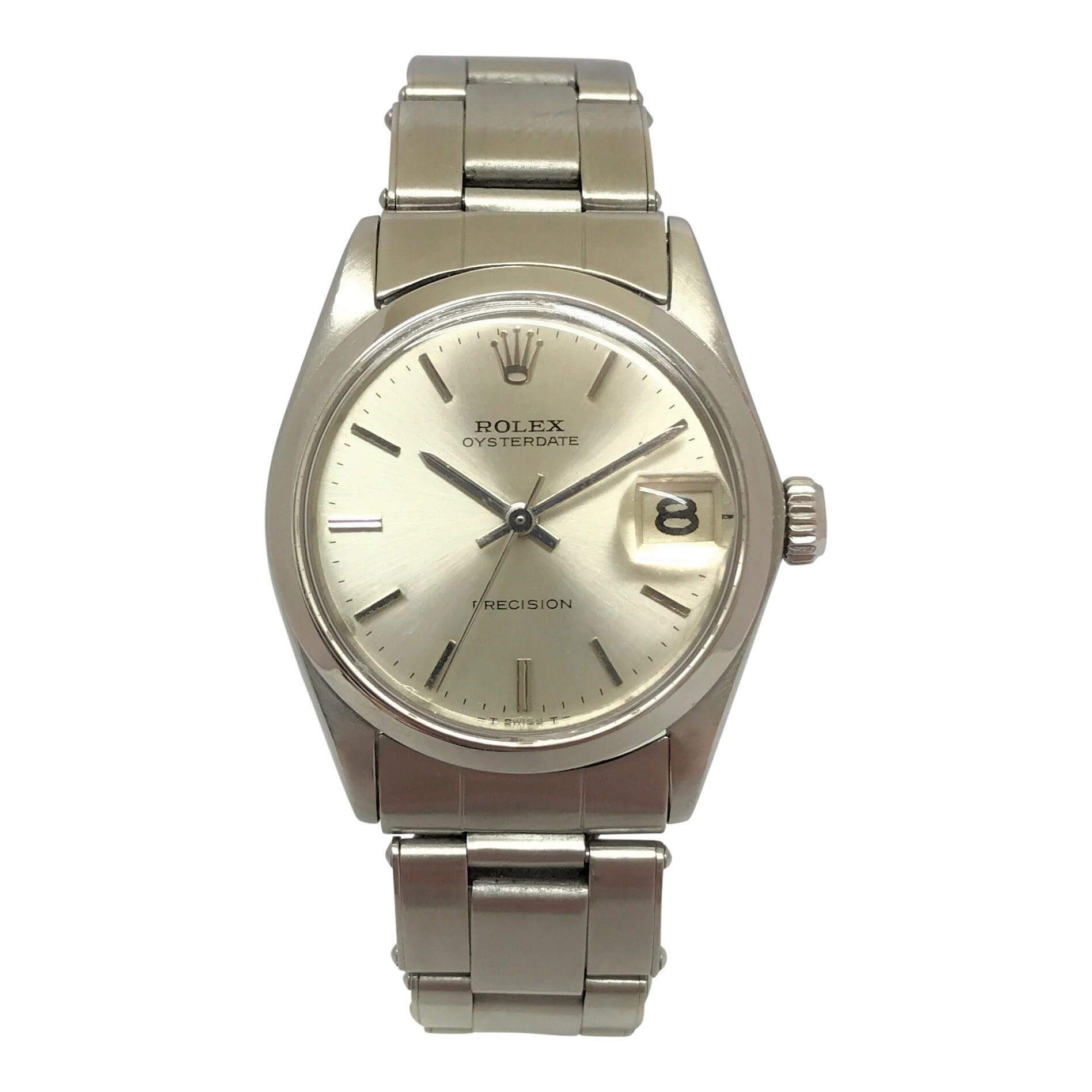 rolex oysterdate ladies vintage watch open for vintage