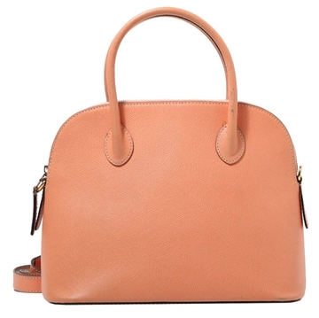 Celine Leather two-way Coral pink vintage bag