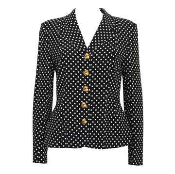 MOSCHINO Couture Polka Dot Vintage Jacket