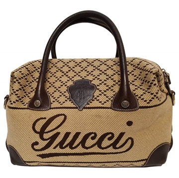gucci-brown-wool-knit-bag