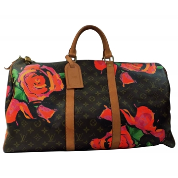 Louis Vuitton Stephen Sprouse Roses Keepall 50 top handle bag