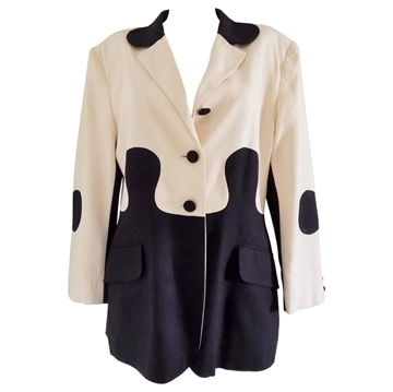 Moschino Cheap & Chic 1980s Puzzle vintage jacket
