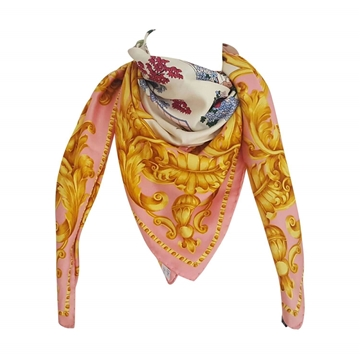 Gianfranco Ferre 1990s multicolored vintage scarf