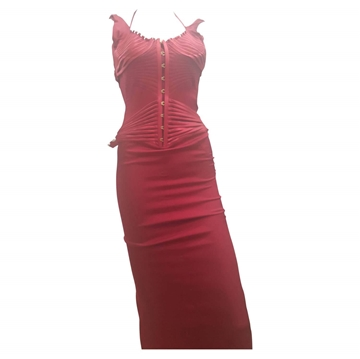 Gucci by Tom Ford Bustier Red Vintage Gown