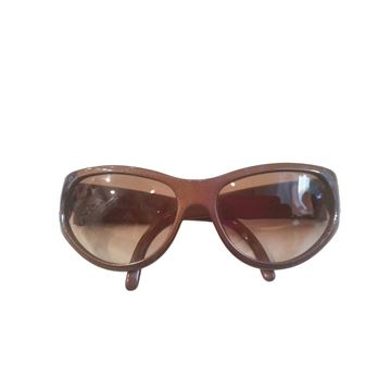 Christian Dior 1980s brown vintage Sunglasses