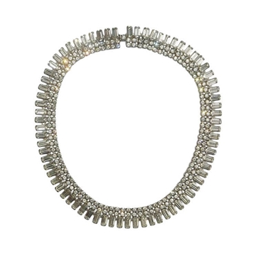 Vintage 1950s Classic Diamante Vintage Necklace