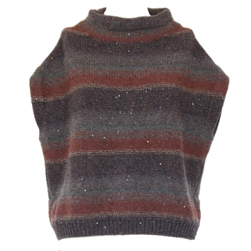Brunello Cucinelli striped Cashmere vintage sweater