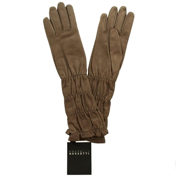 Fratelli Rossetti Leather Brown Vintage Gloves