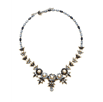 Christian Dior by Mitchel Maer 1950s blue stone vintage Necklace