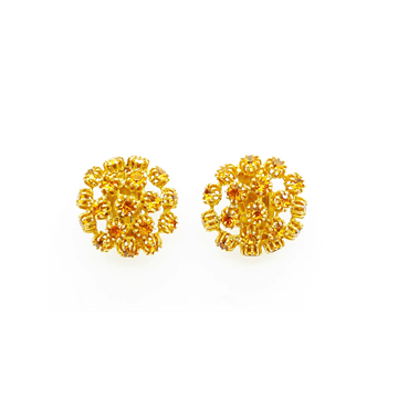 Mitchell Maer for Christian Dior 1950s citrine vintage Earrings