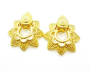 Picture of Givenchy Vintage Gold Star Earrings