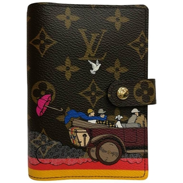 Louis Vuitton Small brown vintage key holder wallet