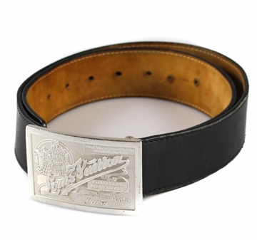 Picture of Louis Vuitton Black Leather Belt