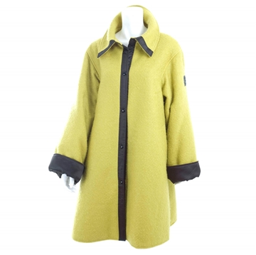 Claude Montana Lime Green vintage coat